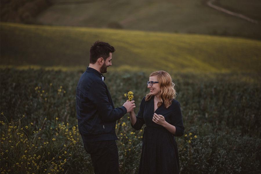 Engagement Tuscany