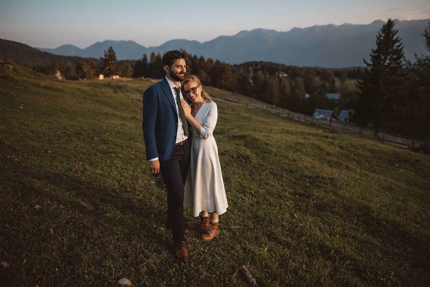 Pokljuka Mountain Wedding Photographer