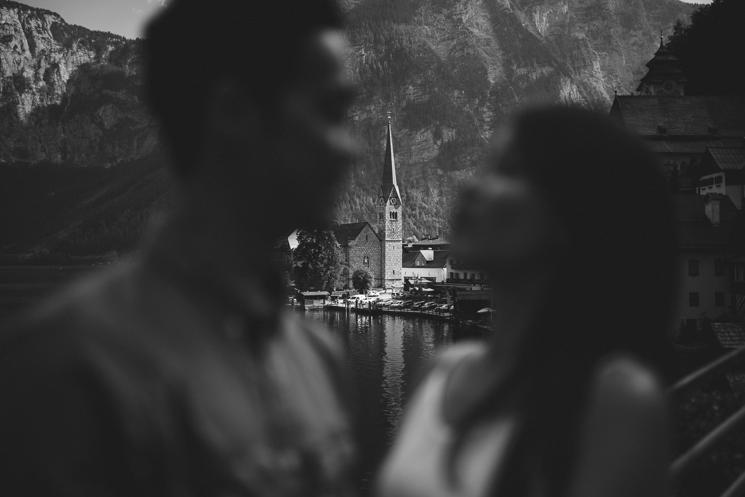 hallstatt photoshoot elopement wedding salzburg