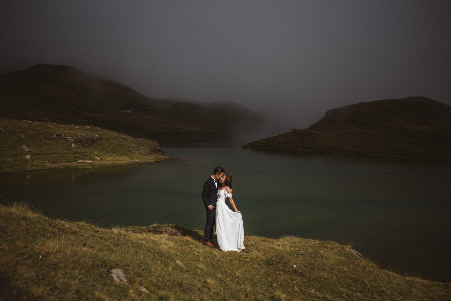swiss alps switzerland elopement wedding