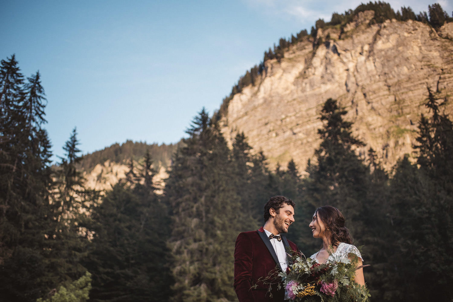 French Alps Wedding Photographer