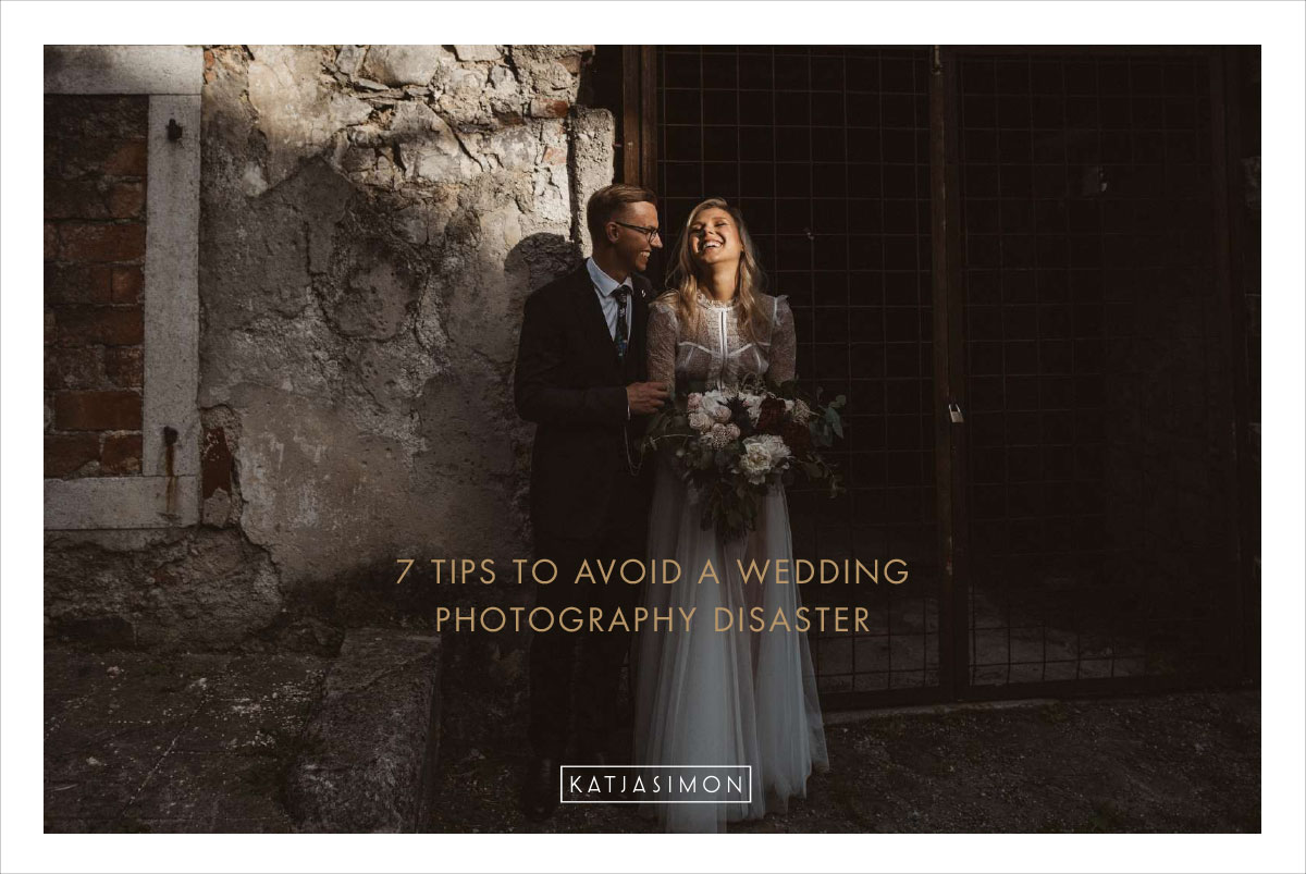 7 tips wedding photography