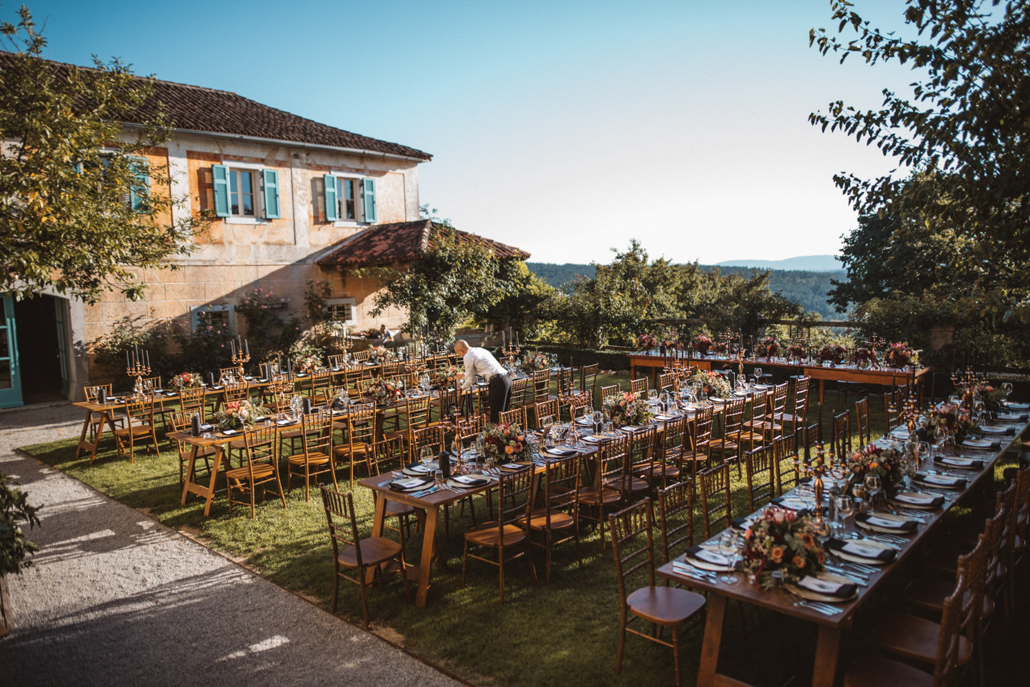 Villa Fabiani Slovenia Wedding