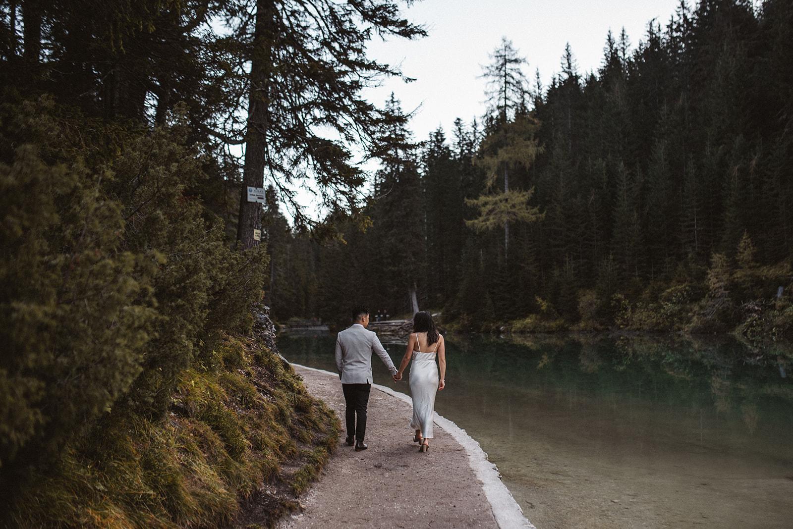 dolomites braies elopement photographer