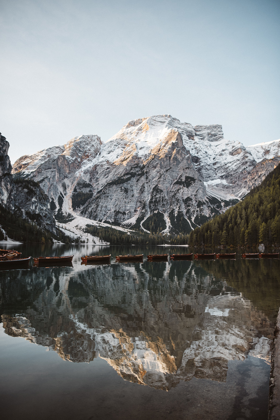 lake braies dolomites photographer