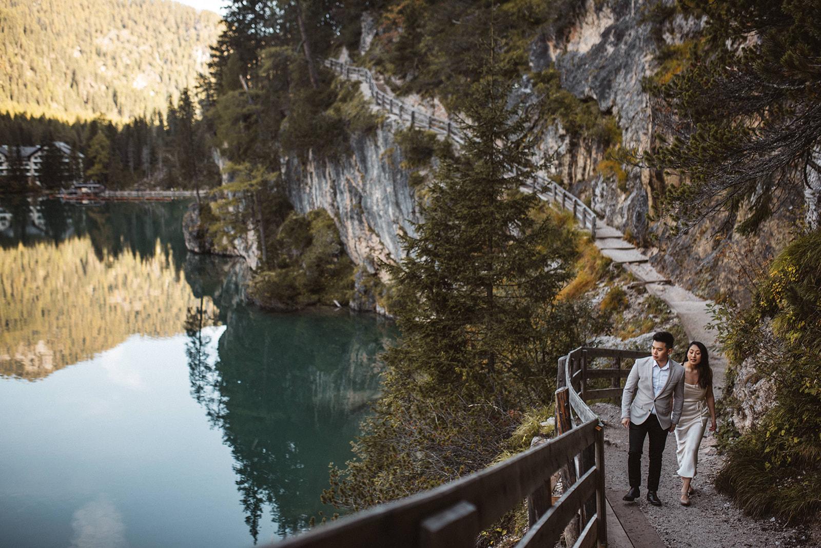 Pragser Wildsee Braies Wedding Photographer